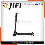 Negro de color blanco inalámbrico de fibra de carbono Scooter Scooter eléctrico de equilibrio