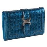 Китайский бумажник билета Fani голубой с цепными женщинами бумажника конструктора
