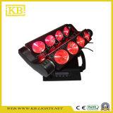 indicatore luminoso capo mobile del ragno di 8PCS LED
