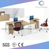 Sitio de trabajo de madera práctico con estilo simple de la oficina