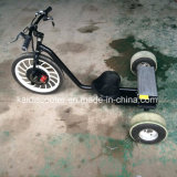 """""""trotinette"""" de derivação da mobilidade elétrica de 3 rodas"""