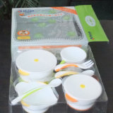 Kundenspezifischer faltender HAUSTIER Plastikkasten mit Drucken-Raum-Blasen-Tellersegment für Produkte des Babys