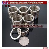 금속 중요한 홀더 쪼개지는 반지 고품질 크리스마스 선물 (G8002)