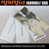 UHF personalizado a prueba de agua etiqueta de RFID de impresión de color para la gestión de tela