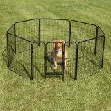 Beweglicher faltender Metallhaustier-Hundeübungs-Zaunhochleistungsplaypen mit Verschlüssen