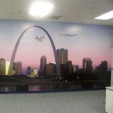 Ultimo murale alla moda di alta risoluzione della parete di stampa del getto di inchiostro di colore completo