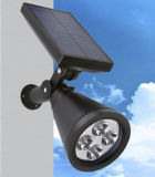 IP65 PIR Waterfroof Solar LED de luz de pared con CE RoHS