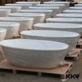 Ванна Corian оптовой продажи поставкы фабрики Китая овальная твердая поверхностная