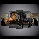 [هد] طبع حالة حبّ حصان حجر السّامة [بينتينغ كنفس] [برينت رووم] زخرفة طبعة ملصقة صورة نوع خيش [مك-035]