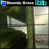 Het dubbele Steunende Gras van het Gras van 20mm Kunstmatige voor Tuin