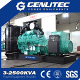 Diseño abierto 800kw/1000kVA generador diesel industrial con Cummins Kta38-G5