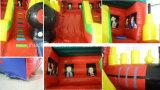 Neuer Entwurfs-aufblasbares Serien-Prahler-Plättchen-Schloss-Haus-Spiel für Kinder