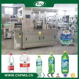 Máquina de etiquetado caliente automática del pegamento del derretimiento para las botellas del animal doméstico de la bebida
