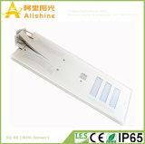 PIRセンサーが付いている1つの統合された太陽街灯の60W生命Po4電池の高い発電すべて