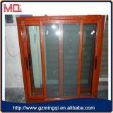 Alluminio che fa scorrere la doppia finestra della glassa