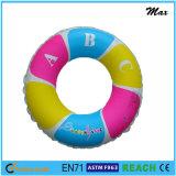 Raffreddare i regali di promozione di disegno o l'anello gonfiabile di nuotata del PVC dei prodotti della sosta dell'acqua