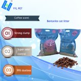 Lettiera della bentonite di buona qualità con il profumo del caffè