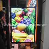 LED Hanging Aluminum Snap Frame ein Light Box Menu Poster Board