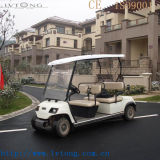 Red Electric 4 Sitzer Golf Auto