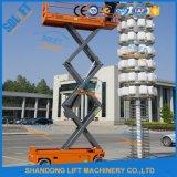 Scissor hydraulische bewegliche elektrische 10m Aufzug