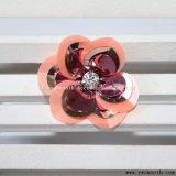 Zona Colourful del Sequin di modo del fiore della decorazione Handmade all'ingrosso dei vestiti