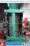Taille des carrés Electric Wire Rope treuil de levage