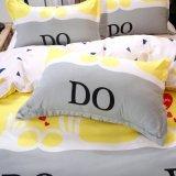 Cama Queen Cama King size com roupa de cama de têxteis inicial Estilo Simples de configurar