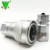 Alta qualità una misura idraulica di 1 pollice che coppia l'accoppiamento rapido del tubo flessibile idraulico dell'acciaio inossidabile