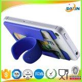 Venta al por mayor del teléfono celular del OEM adhesivas personalizadas soporte de la palmada del silicón