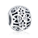 De authentieke Juwelen van 925 Echte Zilveren Toebehoren van de Parel