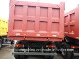 Vrachtwagen van de Stortplaats van de Vrachtwagen HOWO van Sinotruk de Op zwaar werk berekende 6X4 336HP