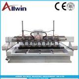 2500*1500*250mm 4 Eixo 8 Eixo Router CNC Máquina com 8 Eixo Rotativo