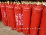 Cilindros 60L do acetileno de Tped para o abastecimento de gás C2h2