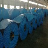 Bandas transportadoras de la cuerda de acero St1250-1000-6+3.8+6 en planta de la mina