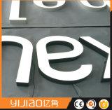 Mini acrylique DEL annonçant Frontlit et lettres contre éclairées de signe
