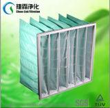 Medios de filtro medios del bolsillo del filtro de bolso de la eficacia