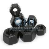 Noix Hex lourdes noires (1/4'-4'ASTM A194-2h)