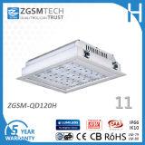 Vertiefte 120W quadratische LED Außengebäude-Innenlichter des heißen Verkaufs-