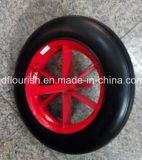 Rotella di gomma solida del pneumatico della carriola