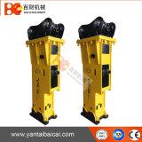 Yantai silenciou o tipo disjuntor hidráulico da máquina escavadora para 11-16ton