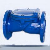Válvula de verificação revestida de borracha do disco de 45 graus