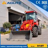 モデル918t 1000kg小型のAoliteの車輪のローダー