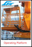 8t@12m Marine telescópicos hidráulicos grúa Offshore