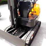 10kw de potencia de alta calidad pequeña excavadora, camarote con vistas panorámicas