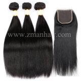 100%の人間のバージンの毛の織り方