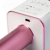 Micrófono sin hilos Q9 de la venta del Karaoke caliente KTV de Portble Stero Bluetooth