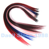 Extensión china del pelo de Microchet de la extensión del pelo humano de la Virgen