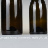 De diepe Fles van het Glas van de Buik van de Kleur Grote voor Uitstekende Wijn