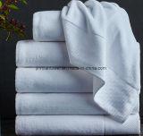 テリーの白の100%年の綿のホテルの浴室タオル
