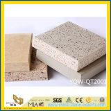 Серый/бежевого и коричневого цвета полированного искусственного кварца камень на кухне пол/стены керамическая плитка